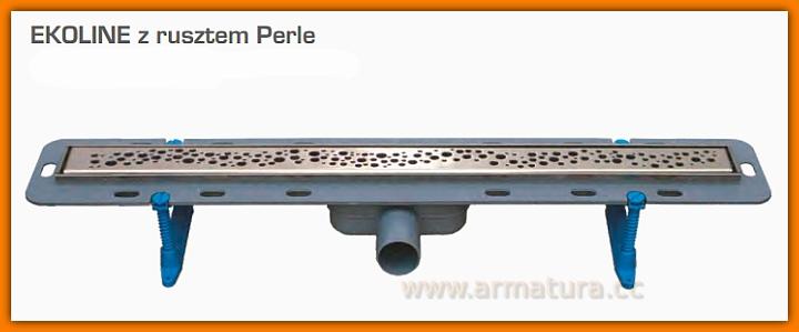Odpływ liniowy EKOLINE PERLE WDO-900-03-4402 odwodnienie WINKIEL DESIGN 90 cm