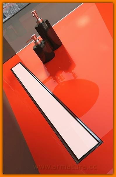 Odpływ liniowy EKOLINE VETRO white WDO-700-09-4410 odwodnienie WINKIEL DESIGN 70 cm