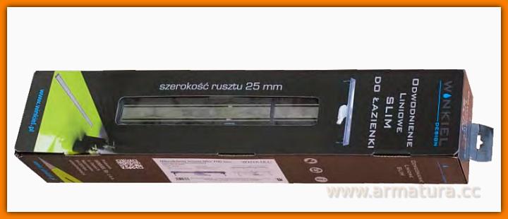 Odpływ liniowy SLIM WDO-700-ZR-5502 odwodnienie WINKIEL DESIGN 70 cm