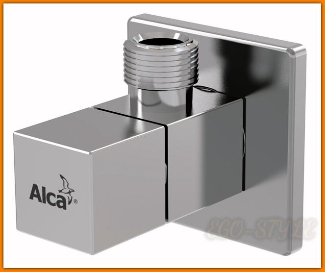 Zawór kątowy ARV002 ALCAPLAST 1/2x3/8 kwadrat
