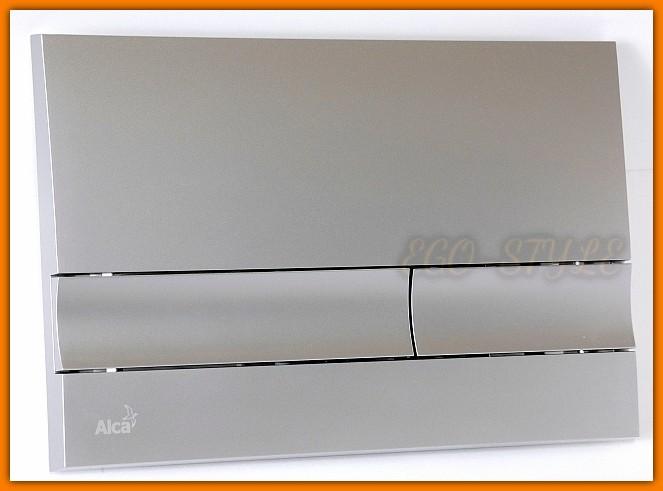 Przycisk spłuczki podtynkowej M1722 ALCAPLAST chrom mat DELFIN