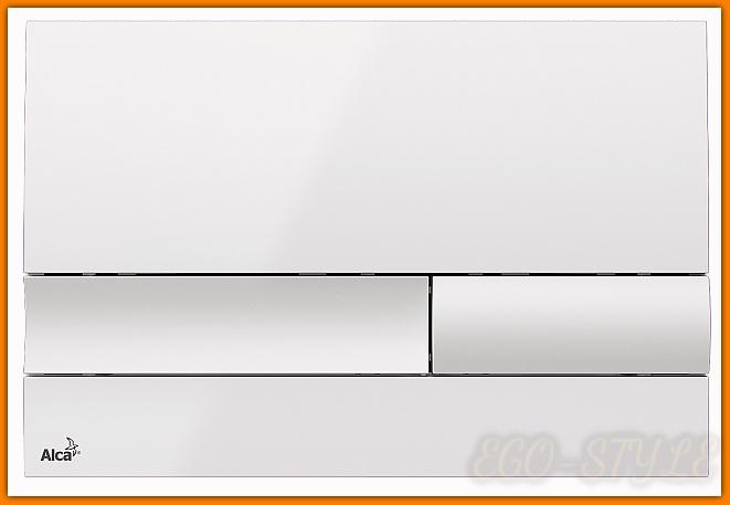 przycisk spłuczki podtynkowej M1730 ALCAPLAST biały DELFIN