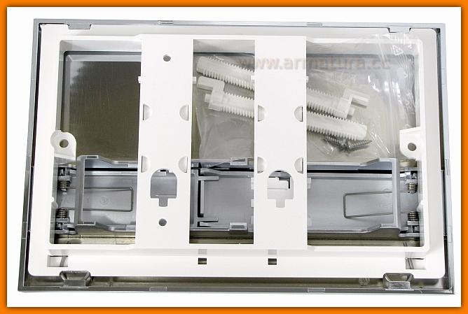 przycisk spłuczki M1743 ALCAPLAST chrom połysk/mat DELFIN