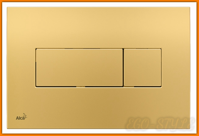 przycisk spłuczki podtynkowej M375 ALCAPLAST złoty DELFIN