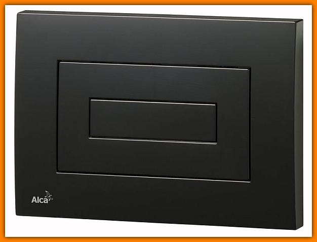 przycisk spłuczki podtynkowej M478 ALCAPLAST czarny DELFIN