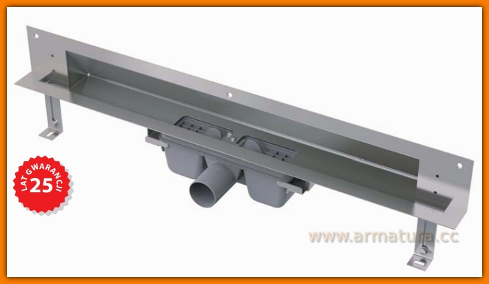 Odpływ liniowy APZ5-TWIN-950 Spa AlcaPLAST 95 cm odwodnienie liniowe ścienne