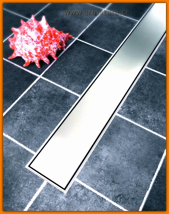 Odpływ liniowy CLASSIC SANITLINE odwodnienie prysznicowe 80 cm