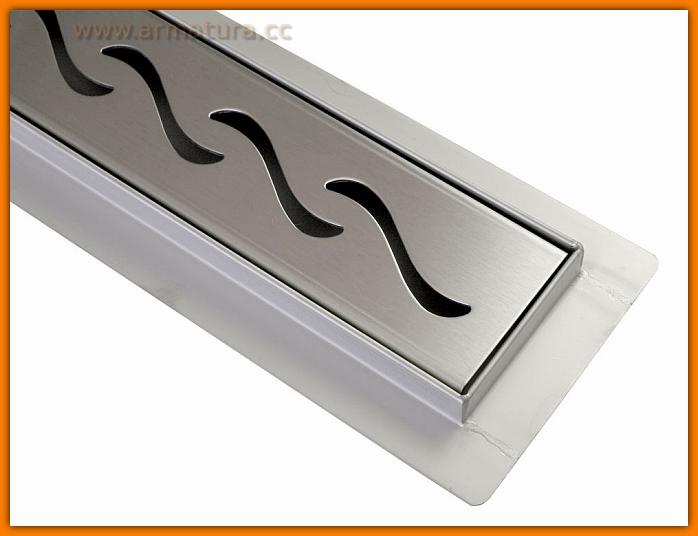 Odpływ liniowy ORIENT SANITLINE odwodnienie prysznicowe 60 cm