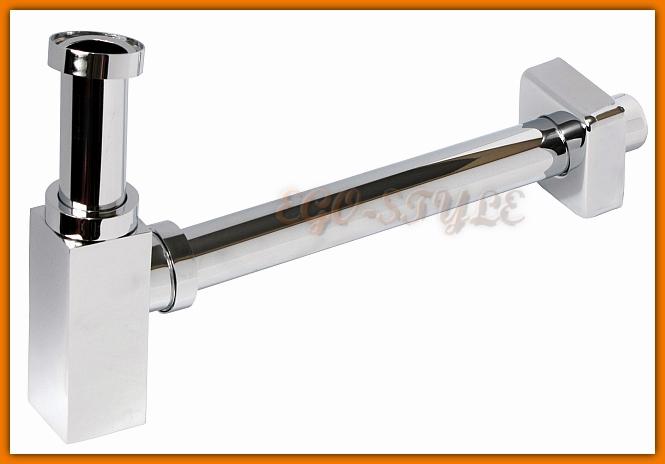 pół syfon umywalkowy A401 quadro ALCAPLAST - tania wysyłka