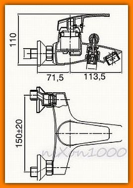 bateria wannowa CAPRI FERRO BTC1 - tania wysyłka