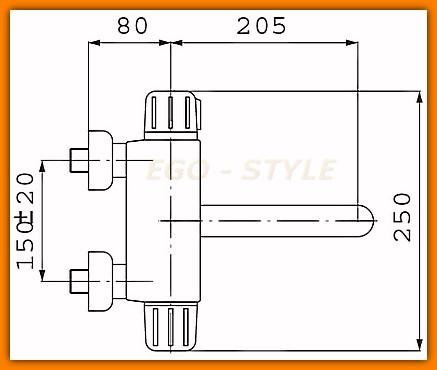 bateria zlewozmywakowa termostatyczna TA5 FERRO