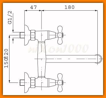 batera zlewozmywakowa RETRO-NEW FERRO XD5 głowice ceramiczne - tania wysyłka