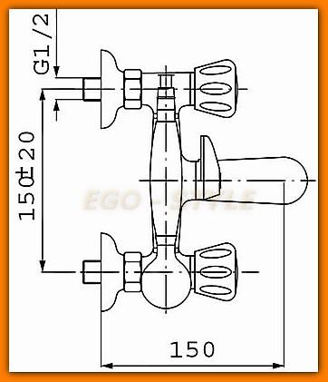 bateria wannowa STANDARD FERRO BST11