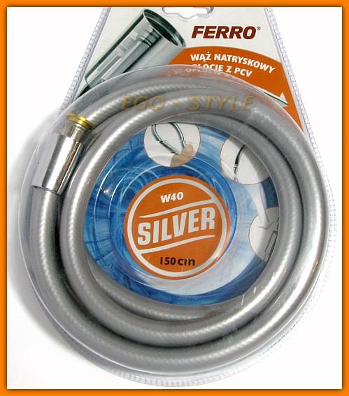 wąż natryskowy prysznicowy FERRO W40