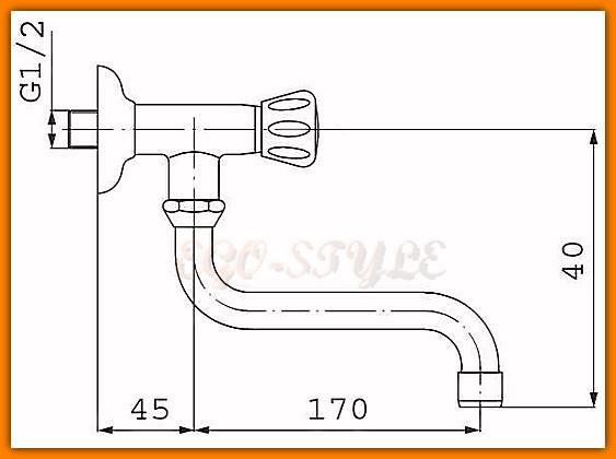 kran bateria zawór umywalkowy - wannowy FERRO STANDARD Z39