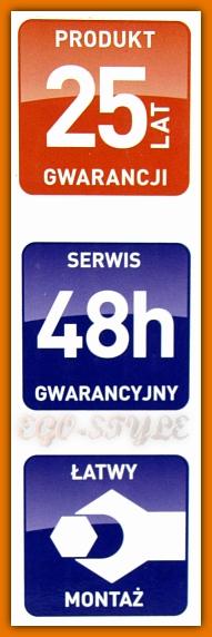 bateria zlewozmywakowa LIVORNO BLI4 FERRO STAL - 25 lat gwarancji