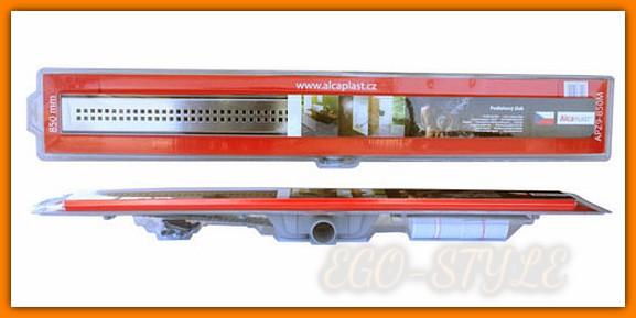 Odpływ liniowy SIMPLE APZ8-650M AlcaPLAST 65 cm odwodnienie liniowe z rusztem kpl.