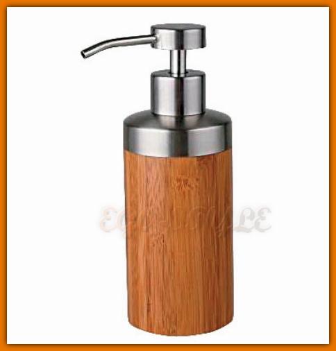 dozownik do mydła w płynie z drewna bambusowego FERRO K04F