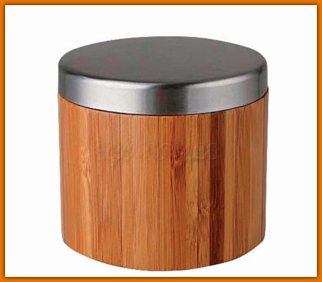 pojemnik kosmetyczny z drewna bambusowego FERRO K17F