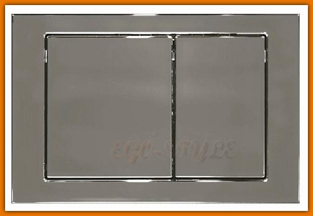 Przycisk spłukujący WC antybakteryjny Cersanit LINK CHROM K97-194