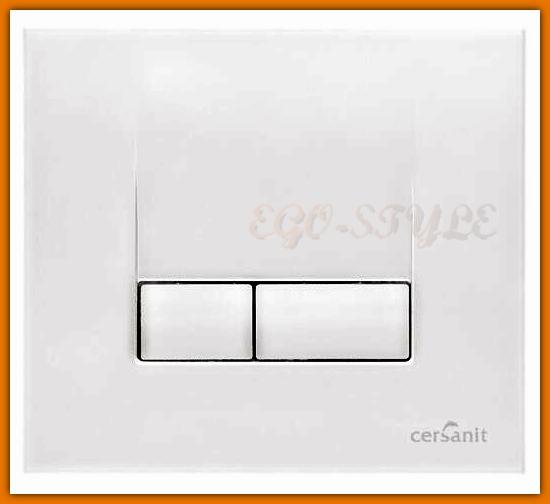 Przycisk spłukujący Cersanit K97-118 AQUA S-1 biały