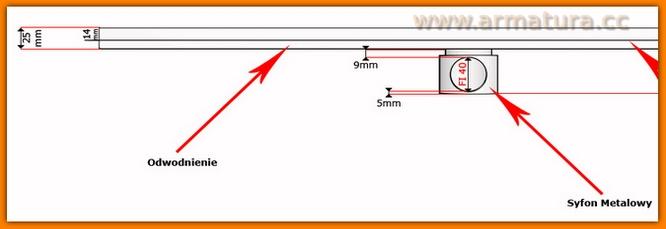 odpływ liniowy 700KNF_m KESMET L-70cm odwodnienie