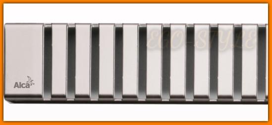 Ruszt LINE-300 Odpływu łazienkowego MINI APZ1-300 ALCA PLAST 30 cm
