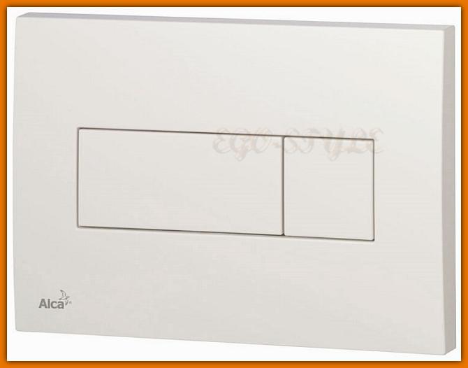 przycisk do spłuczki M370 ALCAPLAST DELFIN biały