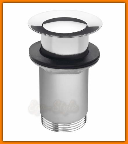 korek umywalkowy zawór spustowy S283B FERRO klik-klak korek automatyczny