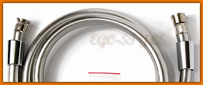Wąż natryskowy Shine Silver W41 FERRO