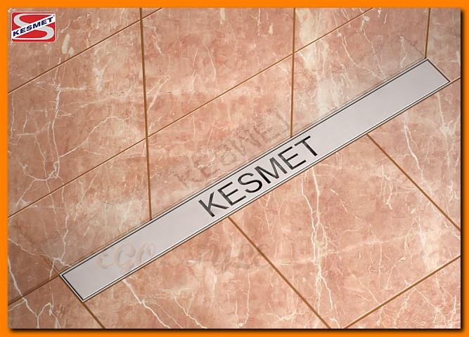 odwodnienie liniowe KESMET 1000KNWF_m ścienne, odpływ łazienkowy