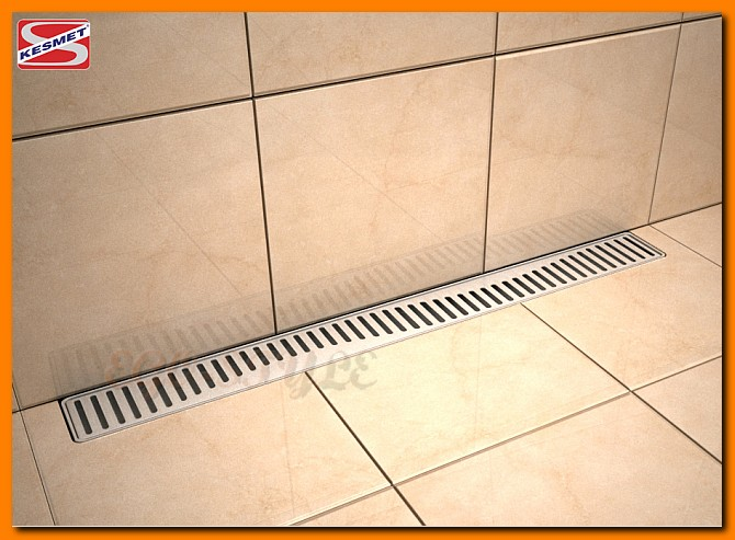 odwodnienie liniowe,  600KNWF_m, ścienne, odpływ łazienkowy, kesmet