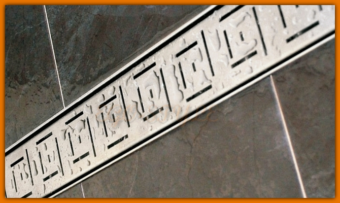odpływ łazienkowy LORAC CUBE L-50 cm odwodnienie liniowe
