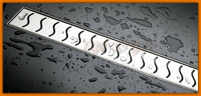 odpływ łazienkowy LORAC DELFIN L-60 cm odwodnienie liniowe