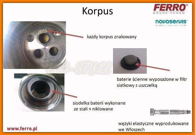 KVADRO 35060/1.0 FERRO bateria natryskowa