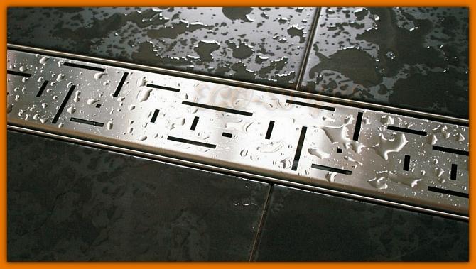odpływ łazienkowy LORAC TETRISS L-70 cm odwodnienie liniowe