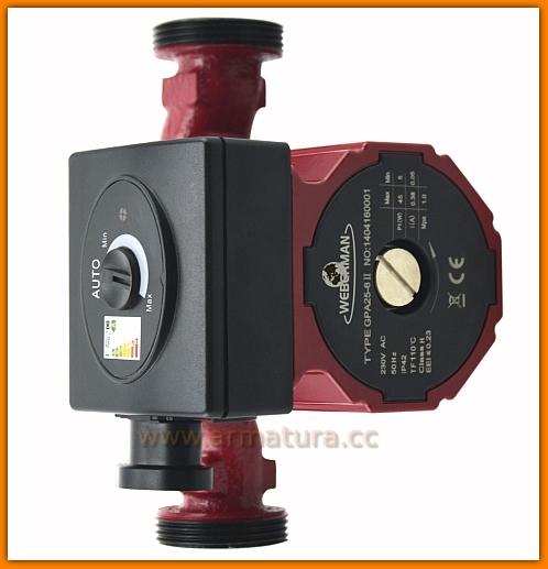 Pompa elektroniczna GPA II 25-4-180 WEBERMAN 0601W