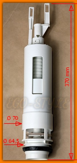 Zawór spustowy spłuczki Azzurro profit 825355 VALSIR 833010