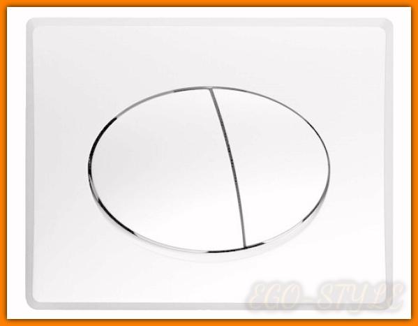 przycisk spłuczki podtynkowej 828541 biały AZZURRO VALSIR