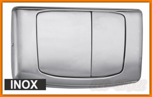 przycisk spłuczki podtynkowej 828801 Angel Rios METAL stalowy INOX VALSIR