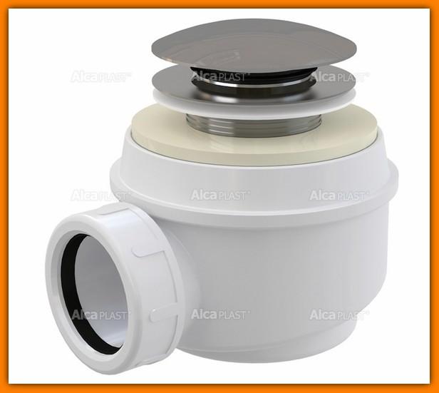 ALCAPLAST A465 syfon brodzikowy klik-klak ?50 mm