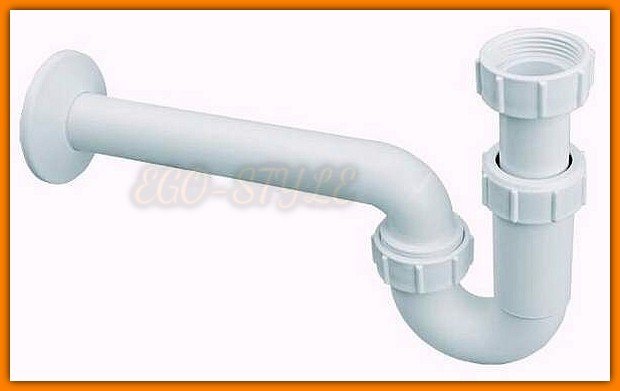 Pół syfon umywalkowy HC4PF-32 bidetowy rurowy McAlpine