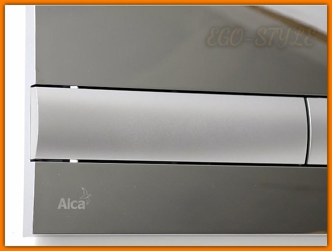 Przycisk spłuczki podtynkowej M1713 ALCAPLAST chrom połysk/mat DELFIN