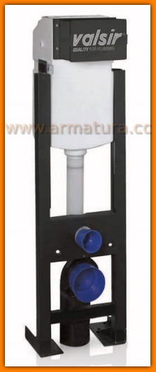 Stelaż podtynkowy VALSIR CUBIK BLOCK spłuczka samonośna 865602 spłukiwanie pneumatyczne !