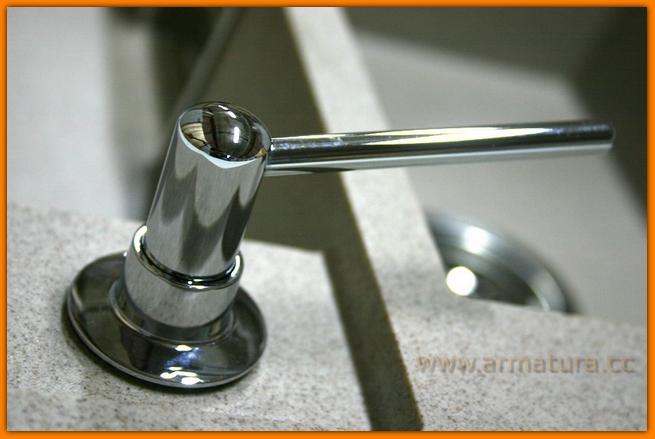 Dozownik płynu mydła mosiądz ZŁOTY McALPINE HC20-GOLD