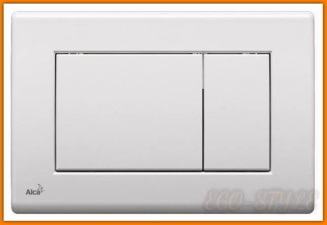 przycisk do spłuczki M270 ALCAPLAST DELFIN biały