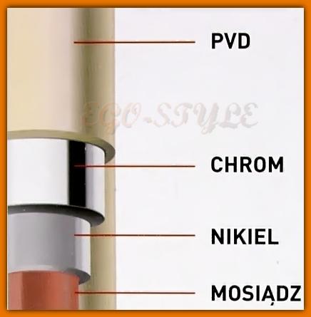 rączka natryskowa CF0069PVD FERRO słuchawka prysznicowa baterii zlewozmywakowej