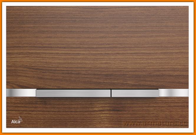 Przycisk wood FLAT STRIPE TEAK ALCAPLAST
