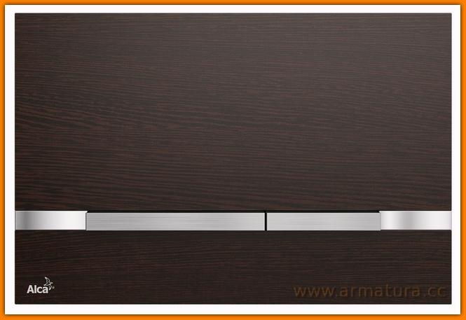 Przycisk wood FLAT STRIPE WENGE ALCAPLAST