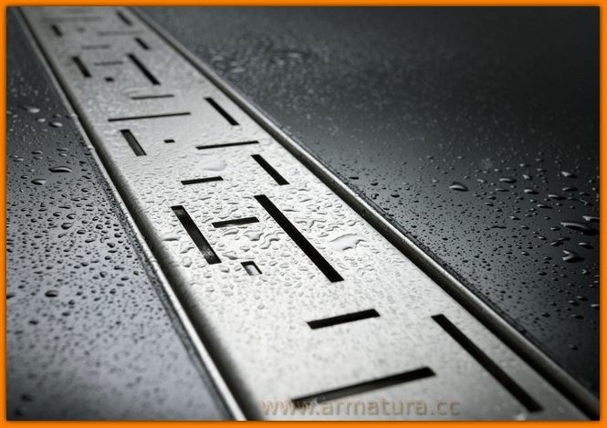 odpływ łazienkowy LORAC TETRISS L-50 cm odwodnienie liniowe